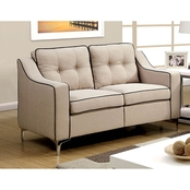 Furniture of America Glenda Loveseat