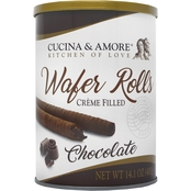 Cucina & Amore Chocolate Wafer Rolls