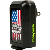 QuikVolt US Flag WP-210 2-in-1 Car/Wall Charger Combo