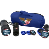 ZGadget US Flag Deluxe Camera Lens Kit with 8X Zoom Lens