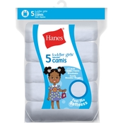 Hanes Toddler Girls Camisoles, 5 Pk.