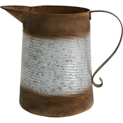 Simply Perfect Rustic Metal Pitcher