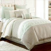 Pacific Coast Palasides 8 Pc. Embroidered Comforter Set