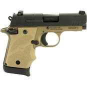 Sig Sauer P938 Combat 9mm 3 in. Barrel 7 Rnd Pistol Flat Dark Earth