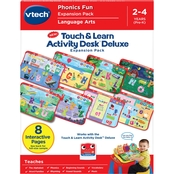 Vtech Touch & Learn Activity Desk Deluxe Phonics Fun