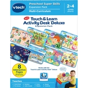 Vtech Touch & Learn Activity Desk Deluxe Preschool Super Skills