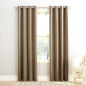 Sun Zero Gramercy Grommet Room Darkening Window Panel