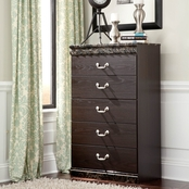 Signature Design by Ashley Vachel Five Drawer Chest