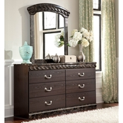 Signature Design by Ashley Vachel Dresser and Mirror Set