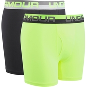 Under Armour Boys 2 Pk Performance Boxer Briefs
