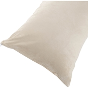 Lavish Home Micro-Suede Body Pillow Cover