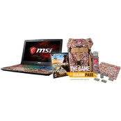 MSI GE62VR-644 Bundle Intel i7 NVIDIA GTX1060 256GB SSD+1TB HDD 16GB Notebook