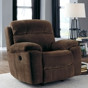 Ashley Uhland Power Recliner with Power Adjusting Headrest