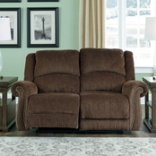 Ashley Goodlow Power Reclining Loveseat with Power Headrest