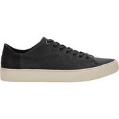 TOMS Men's Black Washed Canvas Lenox Sneakers