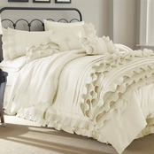 Pacific Coast Textiles Anastacia Pearl 8 Pc. King Comforter Set