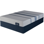 Serta iComfort Blue Max 5000 Memory Foam Elite Luxury Firm Mattress Set
