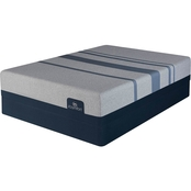 Serta iComfort Blue Max 1000 Cushion Plush Low Profile Mattress Set