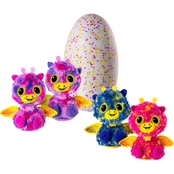 Spin Masters Hatchimals Surprise Giraven Hatching Egg with Surprise Twin