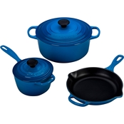 Le Creuset 5 Pc. Signature Enameled Cast Iron Cookware Set
