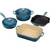 Le Creuset Signature Enameled Cast Iron Cookware 6 pc. Set