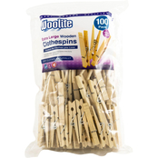Woolite Extra Large Wooden Clothespin 100 Pk.