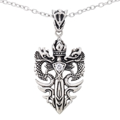 Focus For Men Dragon Pendant With Chain
