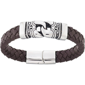 Focus For Men Stainless Steel Tribal Bracelet