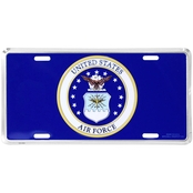 Mitchell Proffitt U.S. Air Force Blue License Plate