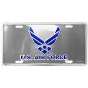 Mitchell Proffitt U.S. Air Force Silver License Plate