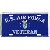 Mitchell Proffitt U.S. Air Force Veteran License Plate
