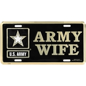 Mitchell Proffitt U.S. Army Wife License Plate