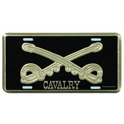 Mitchell Proffitt Cavalry License Plate