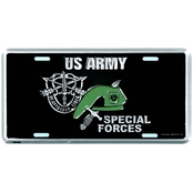 Mitchell Proffitt Army Special Forces License Plate