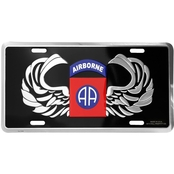 Mitchell Proffitt 82nd Airborne License Plate