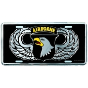 Mitchell Proffitt 101st Airborne License Plate