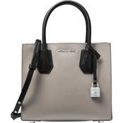 Michael Kors Mercer Medium Messenger Denim
