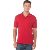 Nautica Solid Interlock Polo Shirt