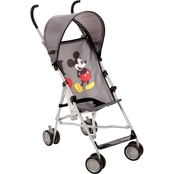 Disney Baby Umbrella Stroller With Canopy, I Heart Mickey
