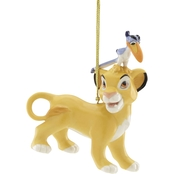 Lenox Disney Simba and Zazu Ornament
