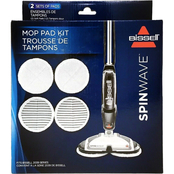 Bissell SpinWave Replacement Mop Pads Kit