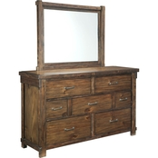 Signature Design by Ashley Lakeleigh Dresser and Mirror Set