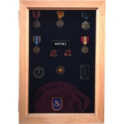 DomEx Hardwoods Shadow Box With Glass Door