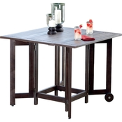 Northbeam Eucalyptus Folding Square Table