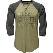 The North Face Scripted Baseball Tee