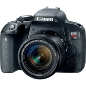 Canon EOS Rebel T7i 24MP DSLR Camera with EF-S 18-55 IS STM Lens Kit