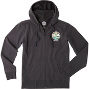 Life is Good Mountain Circle Go To Zip Hoodie