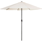 Pure Garden 9 ft. Aluminum Patio Umbrella with Auto Crank