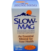 Slow-Mag Magnesium Chloride with Calcium Tablets, 60 pk.