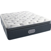 Beautyrest Silver Moonstone Plush Pillow Top Mattress Set